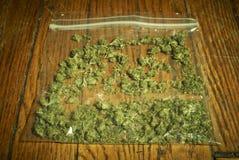 Medical Marijuana RX Royalty Free Stock Images