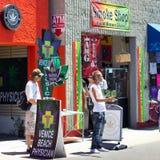 Medical Marijuana Venice Beach CA Stock Images