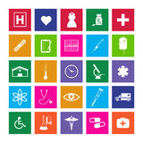 Medical Metro Icons Royalty Free Stock Photo