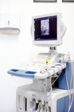 Medical modern equipment ultrasound x-ray scanning Stock Photo