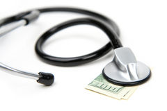 Medical Money Royalty Free Stock Photo