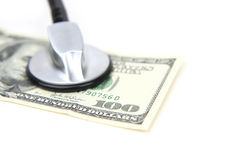 Medical Money Royalty Free Stock Photos