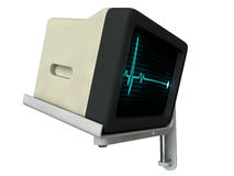 Medical monitor Royalty Free Stock Photography