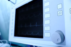 Medical Monitor Royalty Free Stock Images