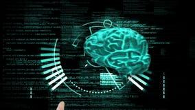 Medical montage. On black background stock video