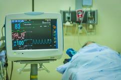 Medical morniter Stock Photos
