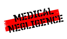 Medical Negligence rubber stamp Royalty Free Stock Images