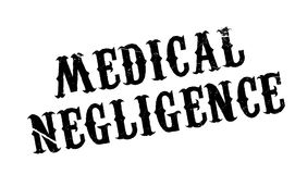Medical Negligence rubber stamp Royalty Free Stock Image