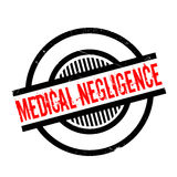 Medical Negligence rubber stamp Royalty Free Stock Photo