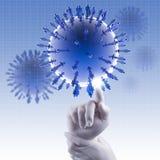 Medical network concept Stock Photos
