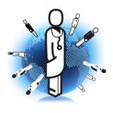 Medical network Royalty Free Stock Photos