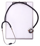 Medical notes Stock Photography