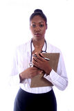 Medical - Nurse - Doctor. African Amrican Medical Worker - Nurse - Doctor royalty free stock photos