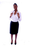 Medical - Nurse - Doctor. African Amrican Medical Worker - Nurse - Doctor stock photo