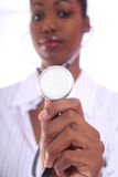 Medical - Nurse - Doctor. African Amrican Medical Worker - Nurse - Doctor royalty free stock photography