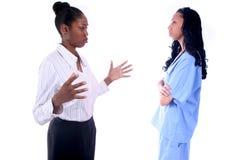 Medical - Nurse - Doctor. African American Medical Worker - Nurse - Doctor royalty free stock images