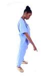 Medical - Nurse - Doctor. African American Medical Worker - Nurse - Doctor stock photography