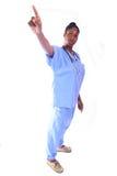 Medical - Nurse - Doctor. African American Medical Worker - Nurse - Doctor royalty free stock photos