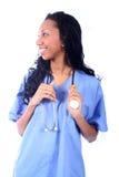 Medical - Nurse - Doctor. African American Medical Worker - Nurse - Doctor stock photos