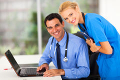 Medical nurse doctor Stock Photography
