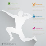 Medical Nurse icon. For info-graphic Royalty Free Stock Images