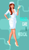 Medical nurse Royalty Free Stock Image