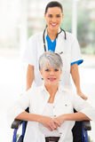 Medical nurse senior Royalty Free Stock Photos