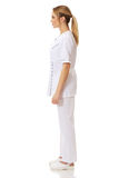 Medical nurse woman standing. Stock Images