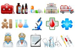 Medical Object. Easy to edit vector illustration of medical object royalty free illustration