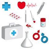Medical objects Stock Photos