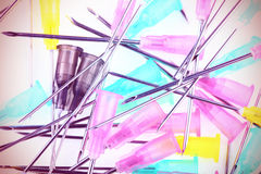 Medical Objects - Needles Stock Photography