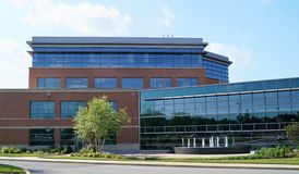 Medical Office Building. Newark, Delaware USA – May 30, 2014: A modern medical office building on a hospital campus housing physician practices and other royalty free stock image
