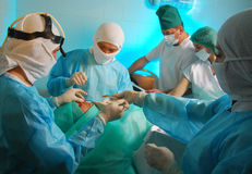 Medical operation Stock Images