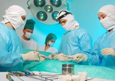 Medical operation Royalty Free Stock Photo