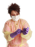Medical orderly Stock Image