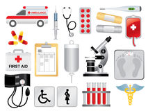 Medical Pack Royalty Free Stock Photography