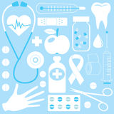 Medical pattern stock illustration