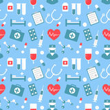Medical pattern Royalty Free Stock Images