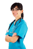 Kind Female Doctor Stock Photography