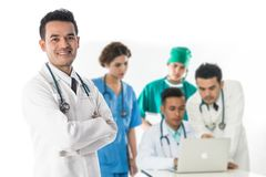 Medical people group - Doctor, Nurse and Surgeon royalty free stock photography