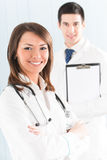 Medical people at office Royalty Free Stock Images