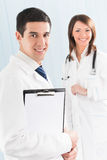 Medical people at office Stock Image