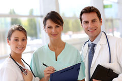Medical people portrait Royalty Free Stock Photo