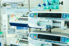 Medical perfusion pump Royalty Free Stock Image