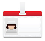 Medical personal badge Royalty Free Stock Images