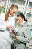 Medical pharmacy drug purchase Stock Image