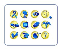 Medical & Pharmacy Icon Set - Stock Photography