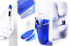 Medical photo collage Stock Photography