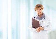 Medical physician doctor woman Royalty Free Stock Photos