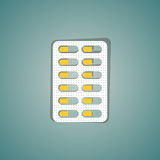 Medical pill Stock Photo